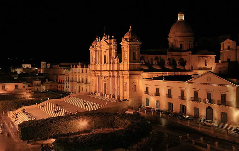 Noto by Night - Cattedrale